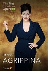 The Metropolitan Opera: Agrippina (2020) - Live Movie Poster