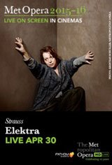 The Metropolitan Opera: Elektra Large Poster