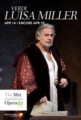 The Metropolitan Opera: Luisa Miller ENCORE Movie Poster