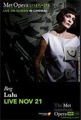 The Metropolitan Opera: Lulu Movie Poster