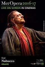The Metropolitan Opera: Nabucco Large Poster