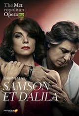 The Metropolitan Opera: Samson et Dalila ENCORE Movie Poster