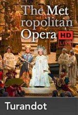 The Metropolitan Opera: Turandot Movie Poster