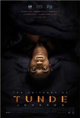 The Obituary of Tunde Johnson Movie Poster