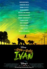 The One and Only Ivan (Disney+) Movie Poster