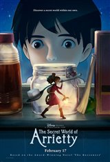 The Secret World of Arrietty (Dubbed) Movie Poster