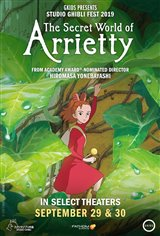 The Secret World of Arrietty - Studio Ghibli Fest 2019 Movie Poster
