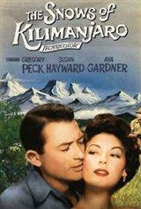 The Snows of Kilimanjaro Movie Poster