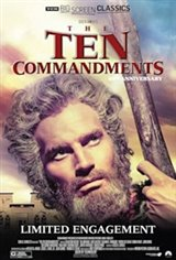 The Ten Commandments 65th Anniversary presented by TCM Movie Poster