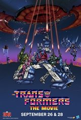 The Transformers: The Movie 35th Anniversary Movie Poster
