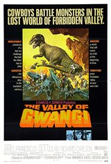 The Valley of the Gwangi Movie Poster