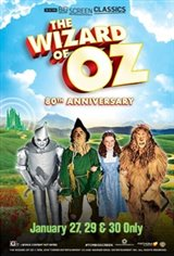 The Wizard of Oz 80th Anniversary Movie Poster