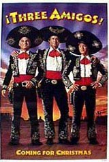 Three Amigos! Movie Poster