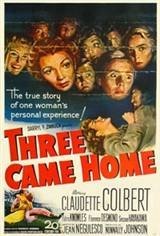 Three Came Home Movie Poster