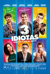 Three Idiots (3 idiotas) Movie Poster