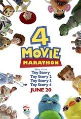Toy Story Movie Marathon Large Poster