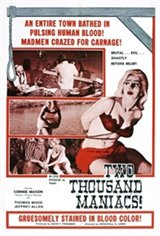 Two Thousand Maniacs! Movie Poster