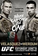 UFC 188: Velasquez vs. Werdum Movie Poster