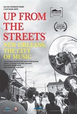 Up From The Streets: New Orleans: The City of Music Large Poster