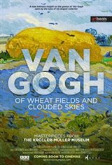 Van Gogh - Of Wheat Fields and Clouded Skies Large Poster