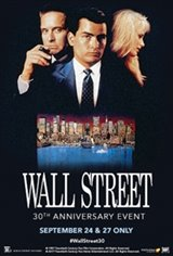Wall Street 30th Anniversary Large Poster