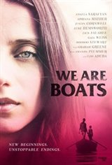 We Are Boats Large Poster