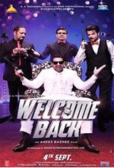 Welcome Back (Hindi with English subtitles) Movie Poster