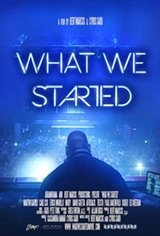 What We Started Movie Poster