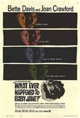 Whatever Happened to Baby Jane? Movie Poster