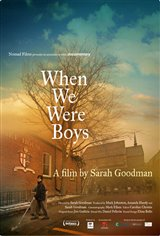 When We Were Boys (2009) Large Poster
