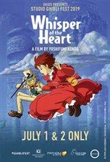 Whisper of the Heart - Studio Ghibli Fest 2019 Movie Poster