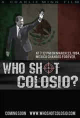 Who Shot Colosio? Large Poster