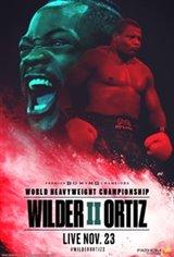 Wilder vs. Ortiz Movie Poster