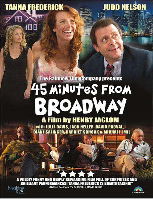 45 Minutes from Broadway Large Poster