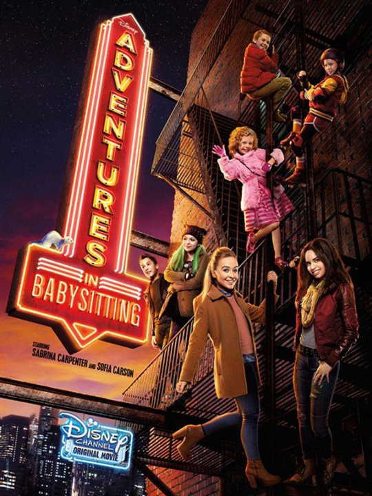 Adventures in Babysitting (TV) Large Poster
