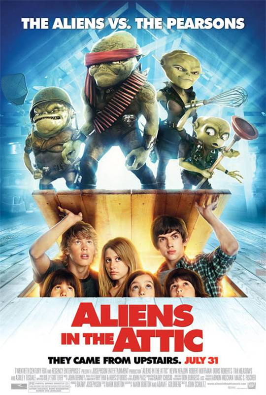 Aliens in the Attic Large Poster