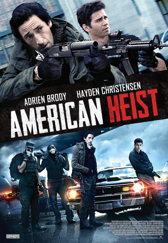 American Heist Large Poster