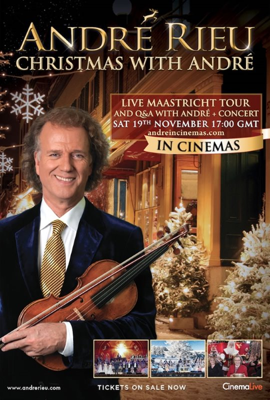 André Rieu: Christmas with André Large Poster