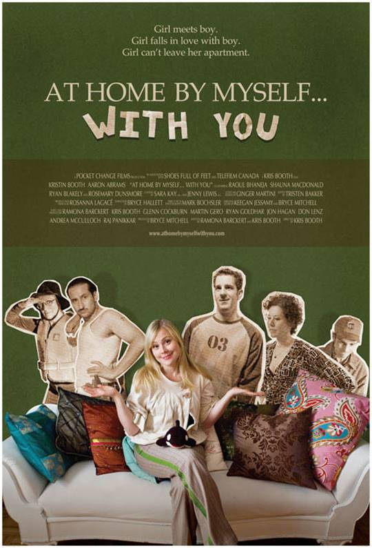 At Home, By Myself...With You Large Poster