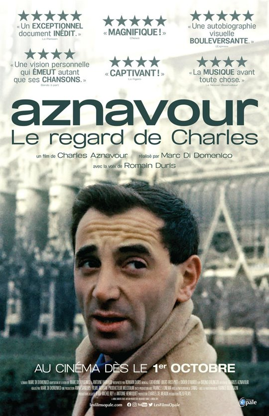 Aznavour by Charles Large Poster