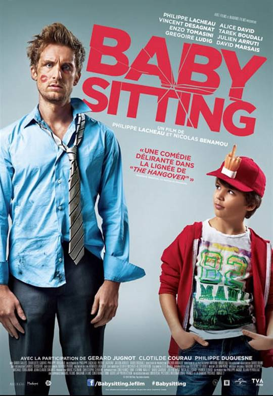 Babysitting Large Poster