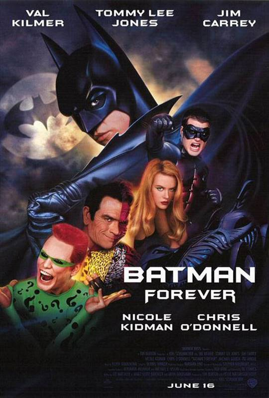 Batman Forever Large Poster