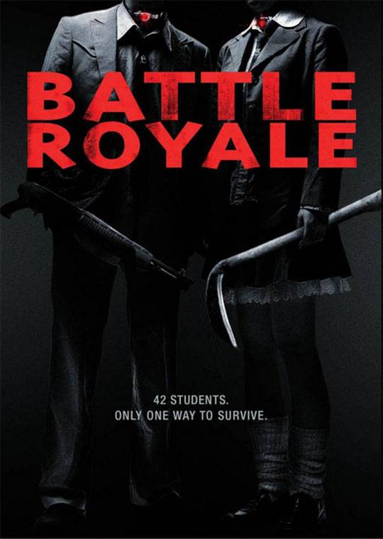 Battle Royale Large Poster