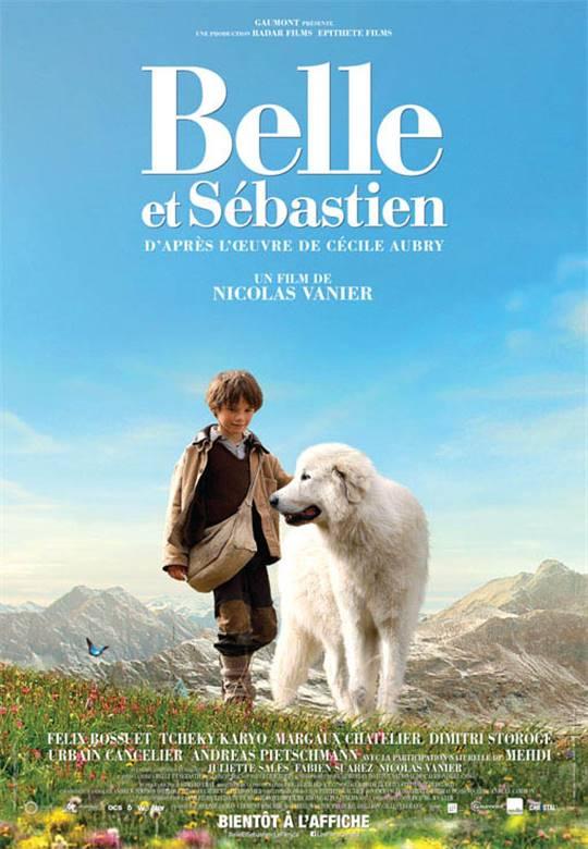 Belle & Sébastien Large Poster