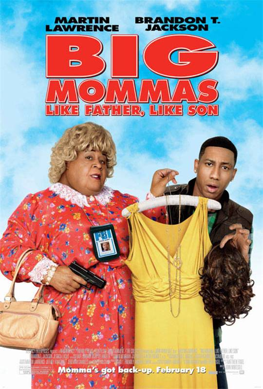 Big Mommas: Like Father, Like Son Large Poster