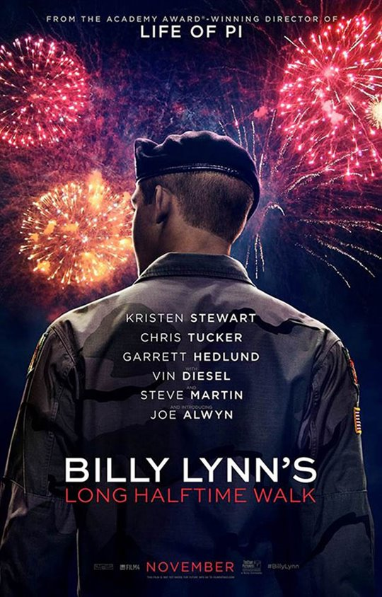 Billy Lynn's Long Halftime Walk Large Poster