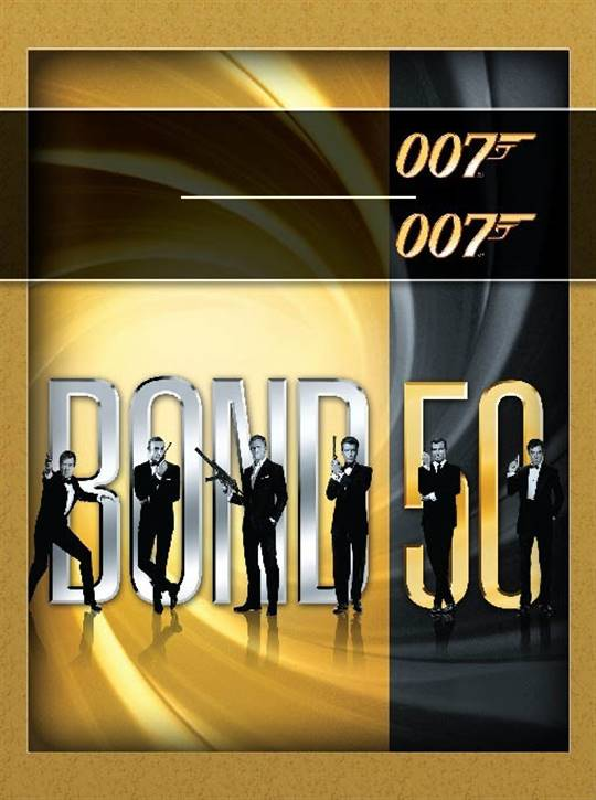 BOND 50: Celebrating Five Decades of Bond Large Poster