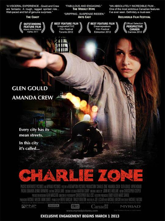 Charlie Zone Large Poster