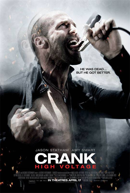 Crank: High Voltage Large Poster