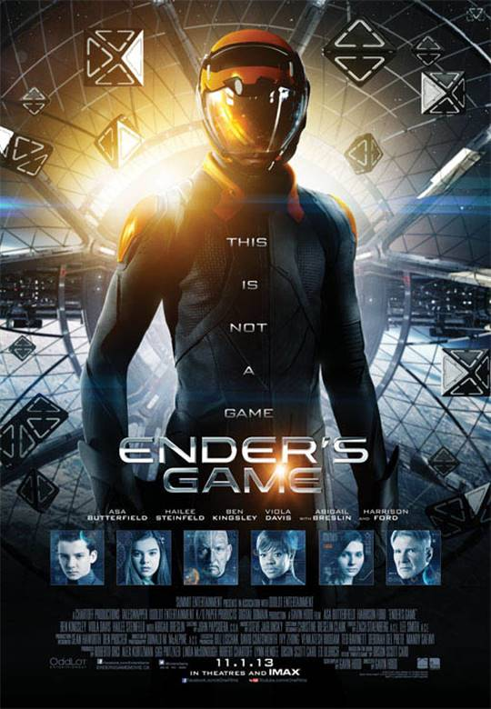 Ender's Game Large Poster